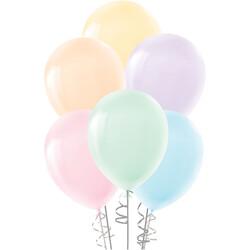 Kikajoy - Makaron Balon Karışık Renkler 100lü