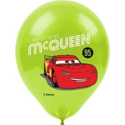 - Cars Baskılı Balon
