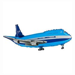 - Mavi Uçak Grabo Folyo Balon 75 cm