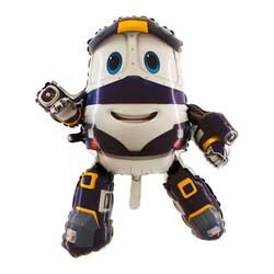 - Robot Tren Grabo Folyo Balon