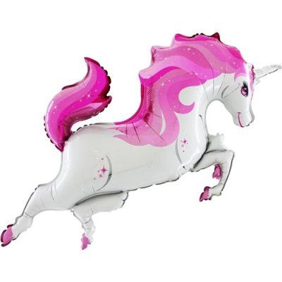 Rainbow Unicorn Body Grabo Folyo Balon