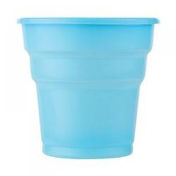 Kikajoy - Açık Mavi Plastik Meşrubat Bardağı 10'lu