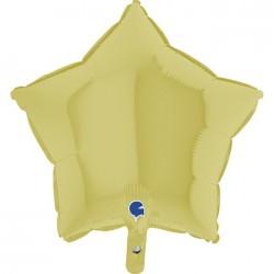 - Altın Mat Yıldız Grabo Folyo Balon 46 cm
