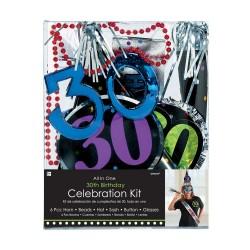 - 30 Yaş Doğum Günü Kutlama Seti