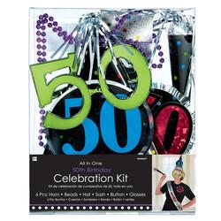 - 50 Yaş Doğum Günü Kutlama Seti