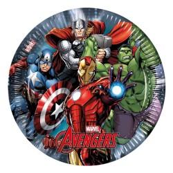 - Avengers Power Karton Tabak 23 cm 8'li