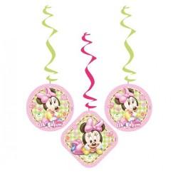 - Baby Minnie Mouse Asma Kağıt Süs