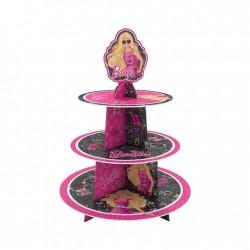 - Barbie Lisanslı Cupcake Standı