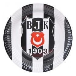 - Beşiktaş Karton Tabak 23cm