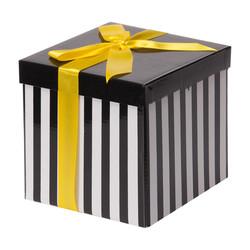 - Beyaz Katlanabilir Hediye Kutusu 15,5x15,5 cm