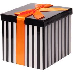 - Beyaz Katlanabilir Hediye Kutusu 17,5x17,5 cm