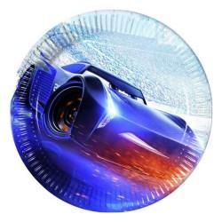 - Cars The Legend Of The Track Karton Tabak 23 cm 8'li