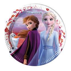 - Frozen 2 Karton Tabak 23 cm 8'li