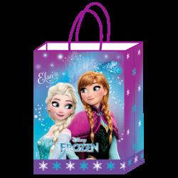 Kikajoy - Frozen Lisanslı Kraft Hediye Çantası 18x8x24 cm 12'li