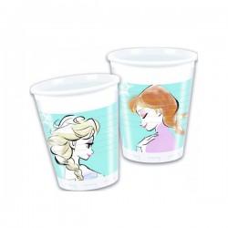 - Frozen Sparkle Plastik Bardak 200cc 8'li