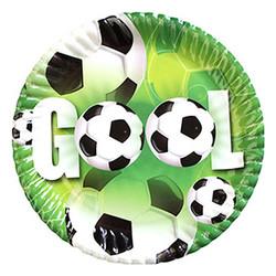 - Futbol Partisi Karton Tabak 8li