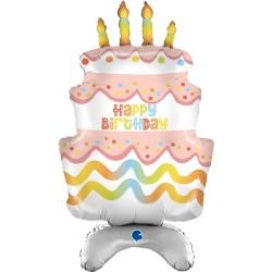 Grabo - Standups Cake Grabo Folyo Balon 38
