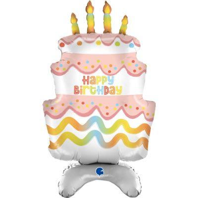 Standups Cake Grabo Folyo Balon 38
