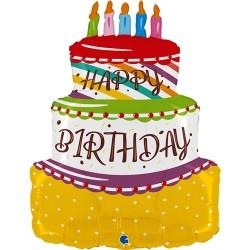 Grabo - Birthday Cake Grabo Folyo Balon 27