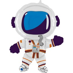 Grabo - Happy Astronaut Grabo Folyo Balon 36