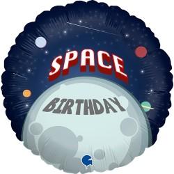 Grabo - Happy Astronaut Grabo Folyo Balon 18