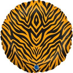 Grabo - Tiger Striped Grabo Folyo Balon 18