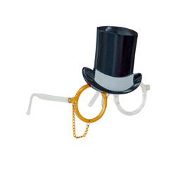 - Şapkalı Parti Gözlüğü