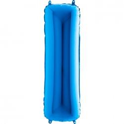 Grabo - I Harf Grabo Mavi Folyo Balon 102 cm