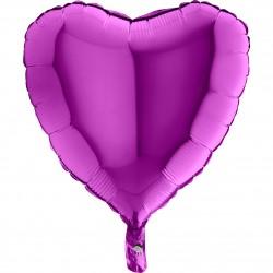 - Kalp Grabo Folyo Balon Mor 46 cm