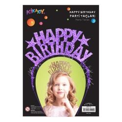 Kikajoy - Happy Birthday Metal Parti Taçları