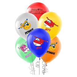 - Harika Kanatlar Baskılı Pastel Balon 100'lü