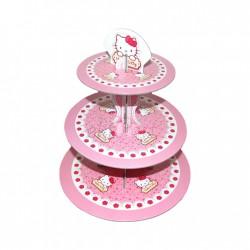 - Hello Kitty Lisanslı Cupcake Standı