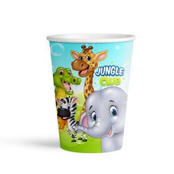 - Jungle Club Karton Bardak 8'li