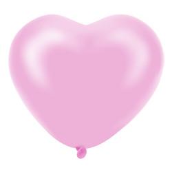 Kikajoy - Kikajoy Kalp Balon Pembe 100lü