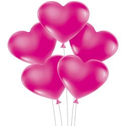 - Kikajoy Kalp Balon Fuşya 100'lü
