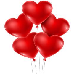 Kikajoy - Kikajoy Kalp Balon Kırmızı 100lü