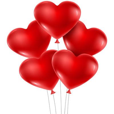 Kırmızı Kalp Balon 12