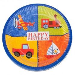 - Happy Birthday Karton Tabak