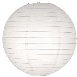 - Beyaz Kağıt Fener 40 cm