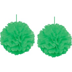 - Kikajoy Yeşil Pompom Dekor Süs 30 cm 2'li