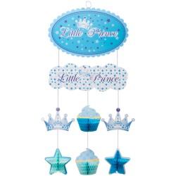 Kikajoy - Küçük Prenses (Little Princess) / Küçük Prens (Little Prince) Kağıt Sarkıt Süs
