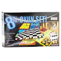 - 8li Set Kutu Oyunu