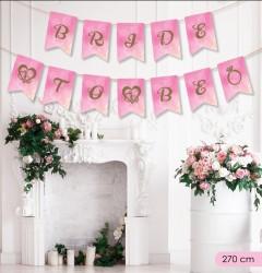 Kikajoy Bride To Be Harf Afiş - Thumbnail