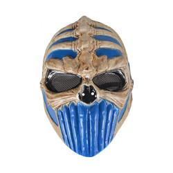 - Kikajoy Cadılar Bayramı İskelet Maske Mavi