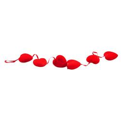 - Kikajoy Dekoratif Kalp Asma Süs 8 cm 6'lı