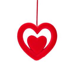 - Kikajoy Dekoratif Sarkıt Kalp Süs 25 cm