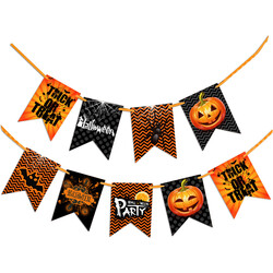 - Kikajoy Halloween Temalı Bayrak Set