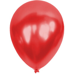 Kikajoy - Kikajoy Metalik Kırmızı Balon 100lü