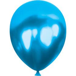 Kikajoy - Kikajoy Metalik Mavi Balon 100'lü
