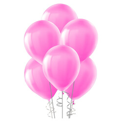 Kikajoy - Kikajoy Pastel Açık Pembe Balon 12li